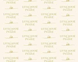 Little House on the Prairie Cream Logo A 7982 L from Andover
