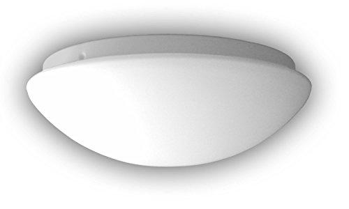 Niermann Standby Lampada in vetro, da A++ a E, Opale opaco, 35 x 35 x 13 cm, E27 230 volts