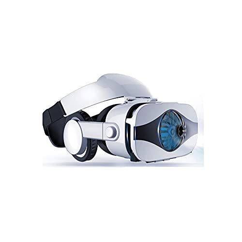 WGLL VR Auriculares para teléfonos 3D Realidad Virtual Gafas para Películas y Juegos VR Gafas con Auriculares...