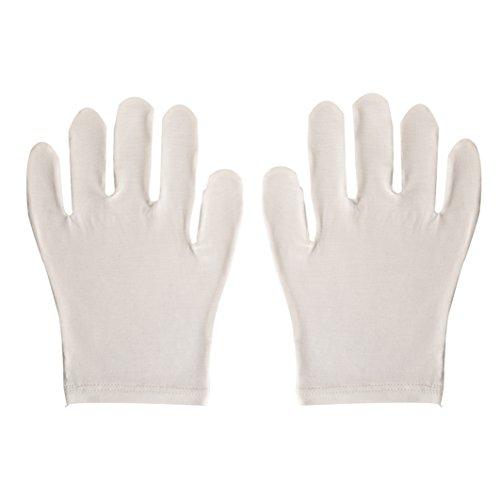 Jasmine Zijde Ultmate Bamboe Hydraterende Handschoenen Volwassen Eczeem Handen Skincare Een Maat - Unisex