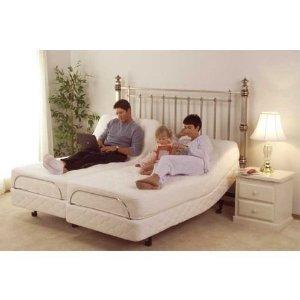 DynastyMattress S-Cape 2.0 Adjustable Beds Set Sleep System Leggett & Platt, with Luxury 12-Inch Gel Memory Foam Bed (Split-King)