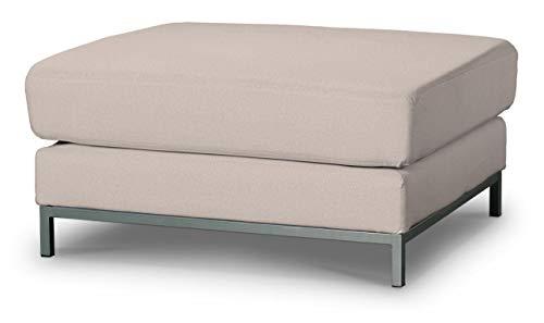 Dekoria Kramfors Hockerbezug Sofahusse passend für IKEA Modell Kramfors beige