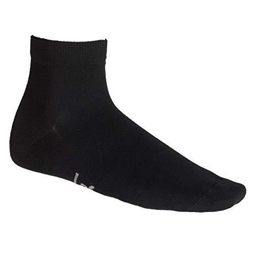 Lafuma - Oslo cut Chaussettes basses confortables - Mixte - Noir - FR : 43-46 (Taille Fabricant : 43-46)