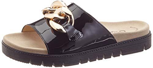 Gabor Shoes Damen Jollys Pantoletten, Schwarz (Schwarz 97), 39 EU