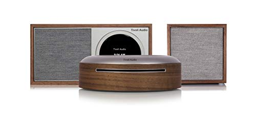Tivoli Audio ART Line Wireless CD Combo - Sistema stereo Wi-Fi (noce/grigio)