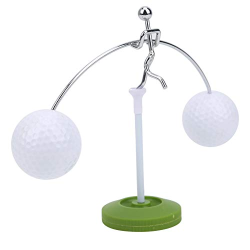 DAUERHAFT Praktischer Ball Balance Stand, Golfdekoration, Golfgeschenk, Golfer