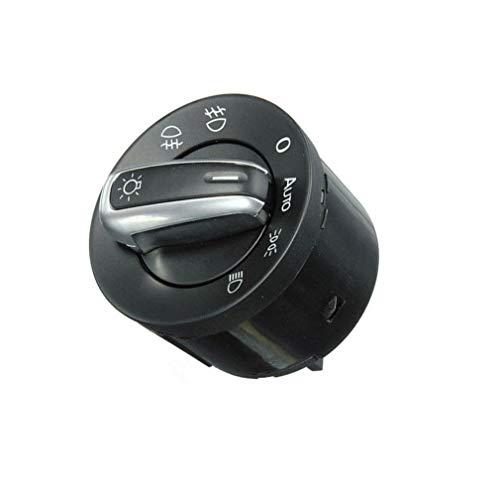 TAKPART Auto Lichtschalter Scheinwerferschalter für MK5 MK6 B6 3C 5ND941431B