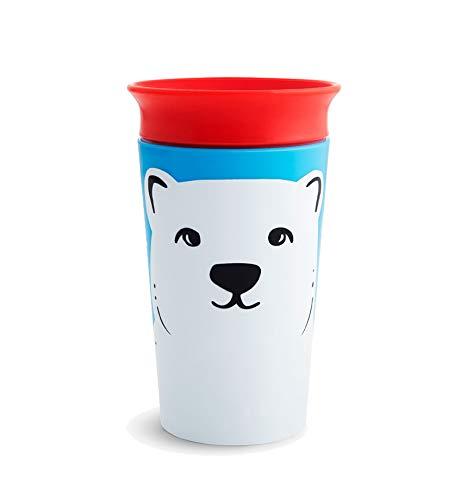 Copo Grande 360 Miracle Cup Wild Urso Polar 266ml - Munchkin