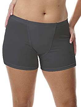 Vulvar Varicosity and Prolapse Support Brief with Groin Compression Bands - Black - Small