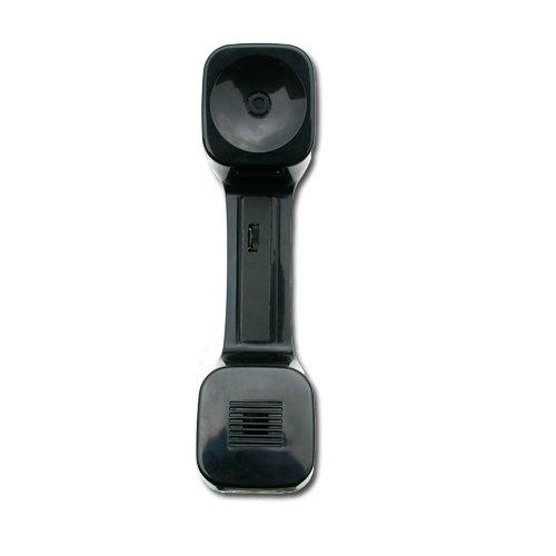 Global Source Digital Technologies Amplified K-Style Handset Replacement for Avaya - MLS12 MLS18 MLX10 MLX10D MLX10DP MLX16DP MLX20 8410 8410D IP Phones with Adjustable Volume Control Wheel, Black