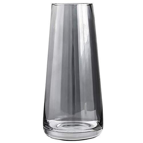 Glasvase Konische Vase dekorative Blumenpflanze Knospenvasen Kristallklare Terrarien Pflanzer 8,8