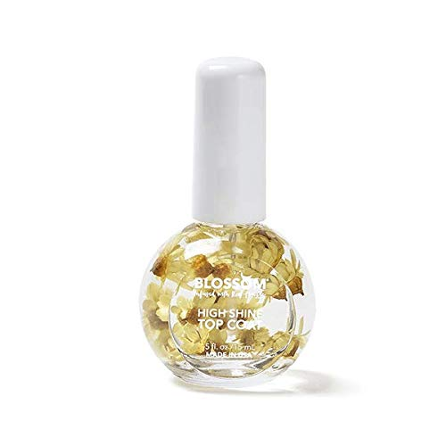 Blossom Overseas parallel import regular Max 48% OFF item High-Shine Top Coat 0.5oz 15ml each Your Flower Choose -