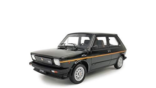 Laudoracing Fiat 127 Sport 70 HP 1982 Negro 1:18 Modelo coche exclusivo para coleccionistas