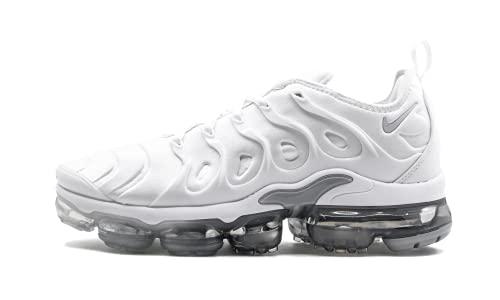Nike Herren Air Vapormax Plus Laufschuhe, Mehrfarbig (White/Pure Platinum/Wolf Grey 102), 44.5 EU