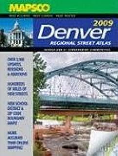 Mapsco 2009 Denver Regional Street Atlas