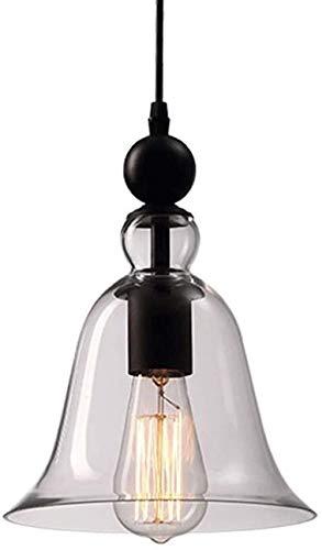 Kroonluchters binnen enkele eenvoudige Industriële Lichten vormige grote bel oud plafondverlichting retro lampen hek semi-geïntegreerde lamp boerderij woonkamer koffietafel veranda verlichting (1 pac