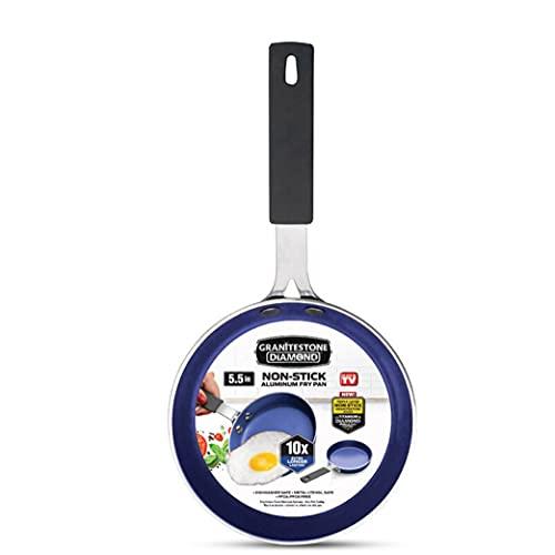 Granitestone Blue Mini Nonstick Egg & Omelet Pan...