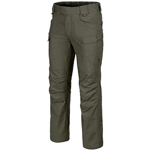 Helikon-Tex Hombre UTP Pantalones Polycotton Canvas Taiga Green tamaño 40W / 34L