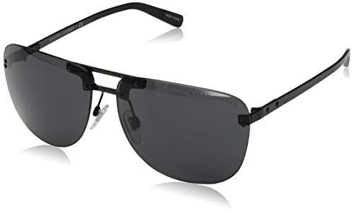 Ralph Lauren Herren 570587 Sonnenbrille, Mehrfarbig (Carbon), 63