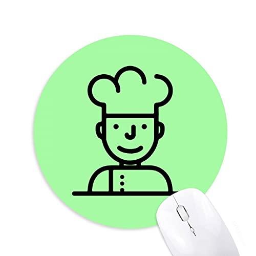 Chef de cuisine Tapis de bureau confortable pour tapis de souris
