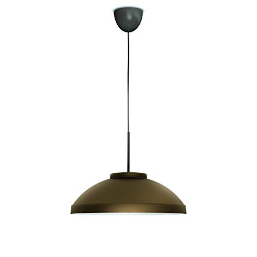 Philips myLiving Hailton - Lámpara colgante, iluminación interior, LED, 8 W, color bronce