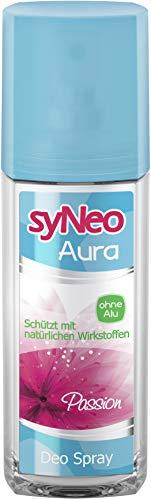 syNeo Aura Deodorant+ Passion ohne Aluminium, 1er Pack (1 x 75 ml)