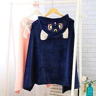 Lalaland12 Plush Cloak - cm Sailor Moon Cat Luna Cosplay Plush Toy Blanket, Cosplay Serenity