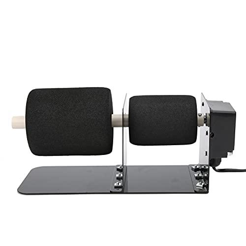 Tumbler Spinner, operación Dura y Firme, Accesorios completos efectivos, volteador de Tazas para Trabajo Manual, Bricolaje para Uso Profesional(European Standard 220V, Pink)