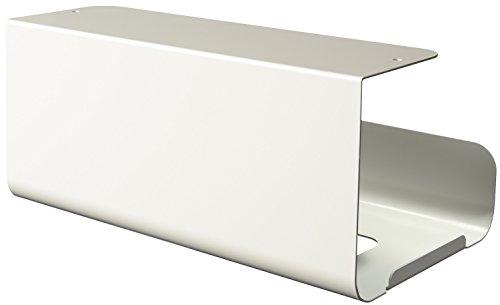 オークス 日本製 ウチフィット キッチンペーパーBOXタイプ ペーパーホルダー ホワイト UFS4WH