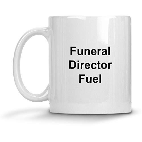 N / A Taza de Combustible Funeral Director - Taza de café con Leche de 11 oz