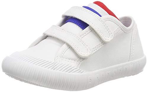 LE COQ SPORTIF Nationale INF, Baskets Mixte bébé, Blanc (Optical White)), 26 EU