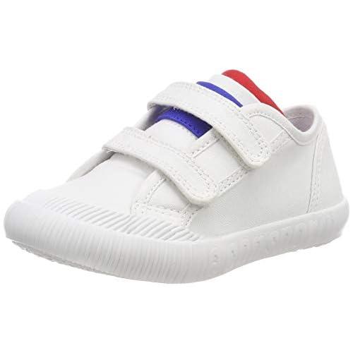 le coq Sportif Nationale Inf, Sneaker Unisex-Bimbi, Bianco (Optical White Optical White), 22 EU