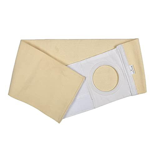 Ostomia abdominal cinturón cómodo incontinencia productos de incontinencia drenaje soporte de cintura de drenaje en el estoma abdominal para arreglar la bolsa y prevenir la hernia de la hernia parestó