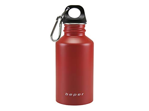 Beper Isolierflasche mit Karabiner Standard rot