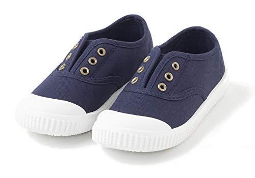TEX - Zapatillas De Lona Unisex, Azul Marino, 20 EU