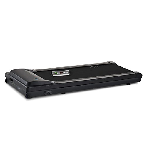 LifeSpan TR1200-DT3 Under Desk Treadmill,black;gray,Large