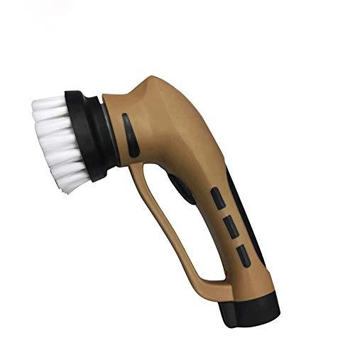 Pulidor de limpieza eléctrica portátil, Película de zapatos eléctricos automáticos de mano Brillo de zapatos eléctricos con interfaz USB, cepillo de herramienta de limpieza eléctrica para cuero, bolsa