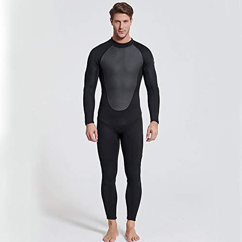 NCBH Wetsuit Mannen Duiken Suit Surf Kleding Zwemkleding Houd Warm Comfortabele Close-Fitting Mode Duurzame Hoge Elasticiteit Outdoor 3MM