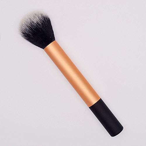 Outils de maquillage multifonctions portables fondation pinceau maquillage blush poudre ombre à paupières poudre de miel réparation capacité maquillage noir + or