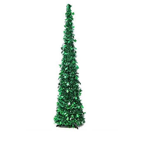 Topashe Material PVC Árbol de Navidad Artificial Acebo Natural,Árbol de Navidad Creativo,...