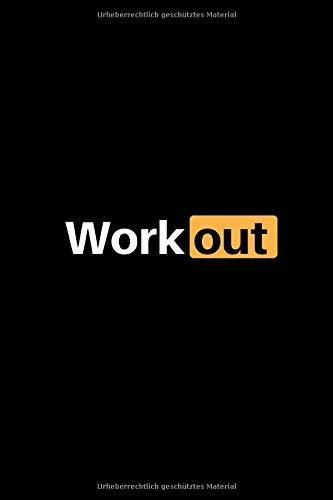 Workout: Notizbuch - 150 linierte Seiten (6x9 Zoll / Softcover) - Sport: Spielvorbereitung & Analyse - Trainingstagebuch / Schreibblock & perfektes Geschenk - günstig