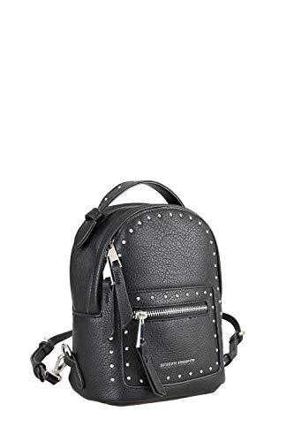 collezione alessandro Kleiner Rucksack Tokyo mit modisch-eleganten Nieten 17cm x 22cm x 9cm