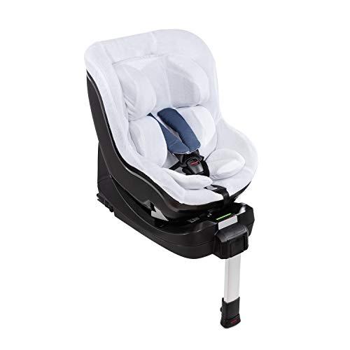 Hauck Sommerbezug für Den Reboard Kindersitz iPro Kids, 4-Teiliger Frotteebezug, weich, atmungsaktiv, Leicht zu reinigen, Weiß