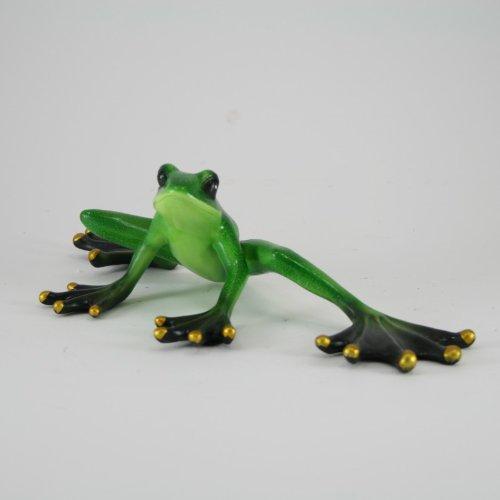 Décoration grenouille-grenouille verte pour l'intérieur et l'extérieur