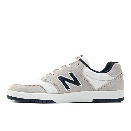 New Balance mens All Coasts 425 V1 Sneaker, Grey/White, 8 Wide US