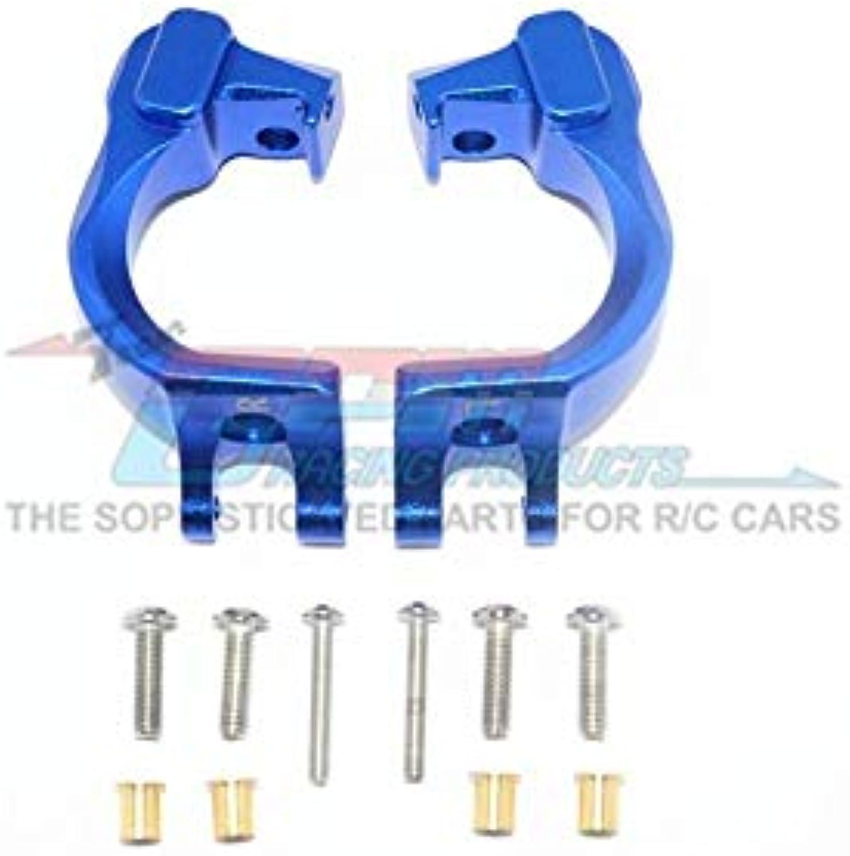 Arrma Granite 4x4   Big Rock Crew Cab 4x4 Upgrade Parts Aluminum Front C Hubs - 1Pr Set bluee