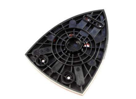 Bosch Original-Ersatz-Schleifplatte, für Bosch PRIO, PSM 80A & PSM 10.8-Li Schleifmaschine, Bosch-Teilenummer 2609001937, inkl. Cadbury Schokoriegel