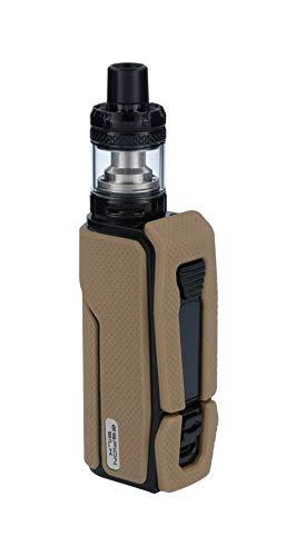 InnoCigs E-Zigaretten Set - Espion Silk Akku 2800 mAh & NotchCore Verdampfer 2,5ml - Farbe: braun