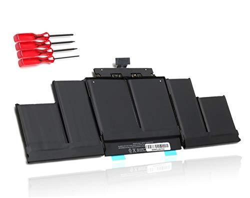 "ANTIEE 99.5Wh A1618 Laptop Batería para MacBook Pro 15 Inch A1398 Retina(2015 Version) 15.4"" A1398 Mid 2015 EMC 2909 2910 MJLT2LL/A MJLU2LL/A MJLQ2LL/A 020-00079 Notebook Battery…"