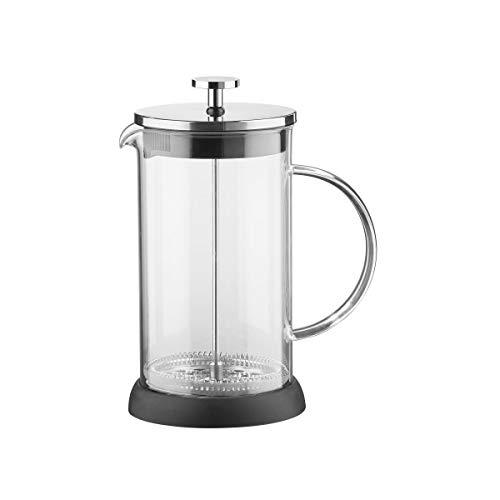 BUTLERS Black Beauty Kaffeepresse für 2 Tassen - French Press Borosilikatglas - Kaffeedrücker, Kolbenkanne, Kaffeekanne
